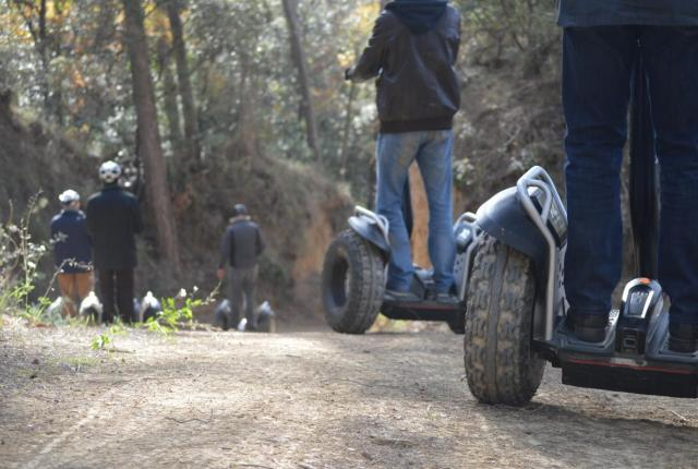 Rural Events Ruta amb Segways