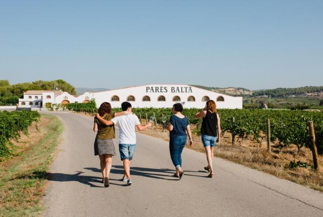 Visita pels voltants del celler