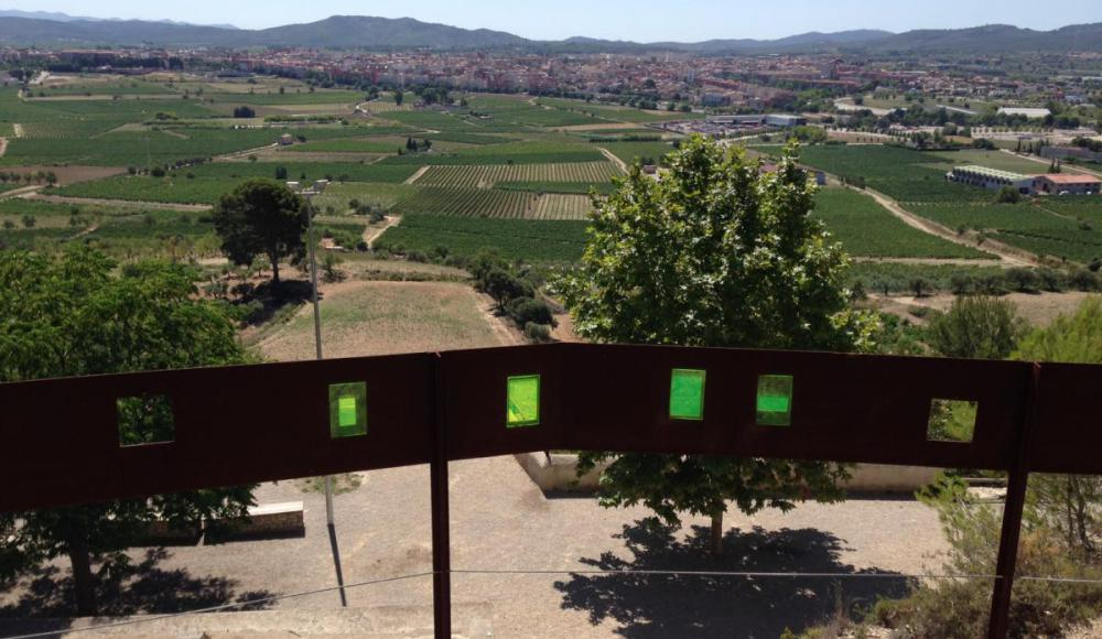 Vilafranca del Penedès, from the Miravinyes viewing point