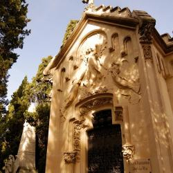 The Cemetery. Work by Santiago Güell
